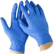 Перчатки нитриловые экстратонкие, L, 100шт STAYER 11203-L