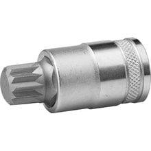 Торцевая бита-головка SPLINE М16 1/2 Kraftool INDUSTRIE QUALITAT 27911-16_z01