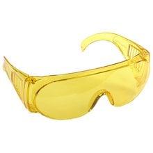 Защитные очки желтые с монолинзой STAYER STANDART 11042