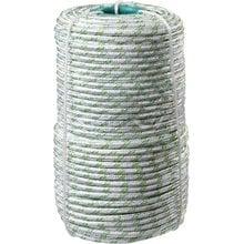 Фал плетёный капроновый с сердечником 1000 кгс 8 мм 100 м СИБИН 50220-08