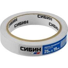 Малярная лента креповая 19 мм 25 м СИБИН 12111-19_z01