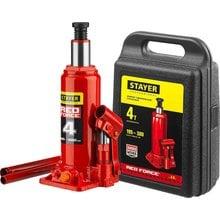 Домкрат гидравлический бутылочный 4 т 195-380 мм STAYER RED FORCE 43160-4-K_z01