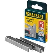 Скобы тип 53 10 мм 1000 шт. Kraftool EXPERT 31670-10