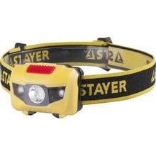 Светодиодный налобный фонарь STAYER MASTER MAXLIGHT 56568