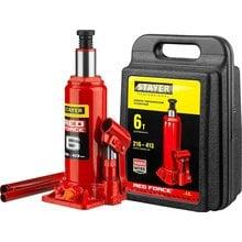 Домкрат гидравлический бутылочный 6 т 216-413 мм STAYER RED FORCE 43160-6-K_z01