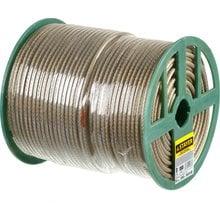 Трос стальной в полимерной оболочке 6 мм 150 м STAYER 30410-60