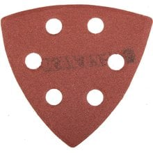 Треугольник шлифовальный универсальный на велкро основе, 6 отверстий, Р180, 93х93х93мм, 5шт STAYER 35460-180