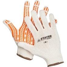 Перчатки с защитой от скольжения размер L-XL STAYER EXPERT 11401-XL