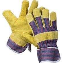 Перчатки кожаные из спилка размер XL STAYER 1131-XL