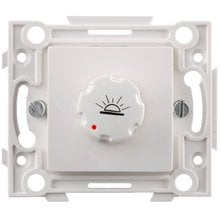Выключатель белый, с реостатом СВЕТОЗАР SV-55233