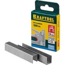 Скобы тип 53 14 мм 1000 шт. Kraftool EXPERT 31670-14