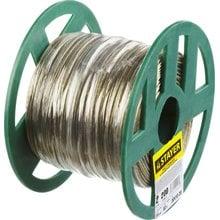 Трос стальной в полимерной оболочке 2 мм 200 м STAYER 30410-20