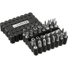 Набор бит с магнитным адаптером 33 предмета STAYER MASTER 26084-H33
