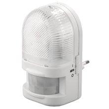Светильник-ночник с датчиком движения, ЛОН-лампа, с выключателем, 7W, цветовая температура 2700К СВЕТОЗАР SV-57991