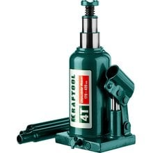 Домкрат гидравлический бутылочный двухштоковый 4 т 170-420 мм Kraftool 43463-4