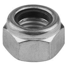 Гайка самостопорящаяся с нейлоновым кольцом DIN 985 M6 1000 шт Kraftool 303584-06