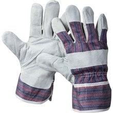 Перчатки кожаные из спилка размер XL STAYER 1130-XL