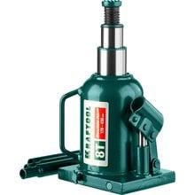 Домкрат гидравлический бутылочный двухштоковый 8 т 170-430 мм Kraftool 43463-8