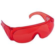Очки защитные красная поликарбонатная монолинза STAYER STANDART 11045