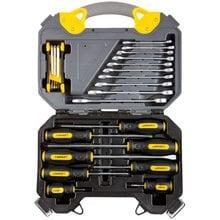 Универсальный набор инструментов 26 предметов STAYER PROFI 27710-H26