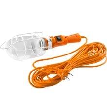 Светильник переносной 60 Вт 10 м с выключателем СИБИН 56064-60-10