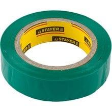 Изолента ПВХ 5000 В зеленая 15 мм 10 м STAYER MASTER 12291-G-15-10