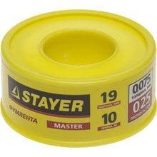 Фумлента 19 мм 10 м STAYER MASTER 12360-19-025