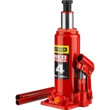 Домкрат гидравлический бутылочный 4 т 195-380 мм STAYER RED FORCE 43160-4_z01
