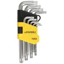 Набор имбусовых ключей 9 предметов TX 10-50 STAYER MASTER 2743-H9