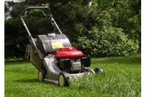 Советы при работе с газонокосилкой