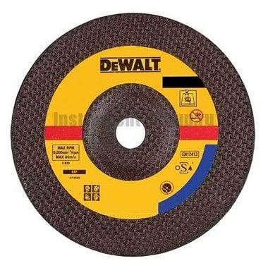 Диск отрезной по металлу DeWalt DT 3430 (230х22,2х3 мм)