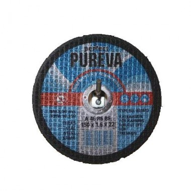 Диск отрезной по нержавеющей стали PUREVA 403413 (150х22х1,6 мм)
