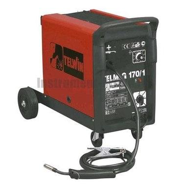 Сварочный аппарат (полуавтомат) TELWIN TELMIG 170/1 turbo 230V