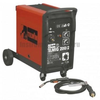 Сварочный аппарат (полуавтомат) TELWIN TELMIG 200/2 230V