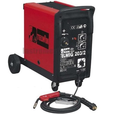 Сварочный аппарат (полуавтомат) TELWIN TELMIG 203/2 230-400V