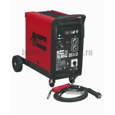 Сварочный аппарат (полуавтомат) TELWIN TELMIG 251/2 230V