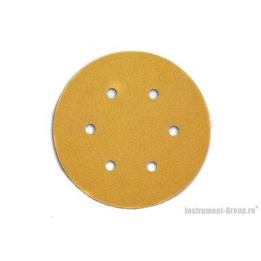 Круглая шлифбумага DeWalt DT 3135 (150 мм; К120; 25 шт; для дерева, краски)