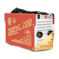 Сварочный инвертор Торус 200 (НАКС) + комплект проводов