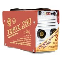 Сварочный инвертор Торус-250 (НАКС) + комплект проводов