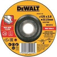 Диск отрезной по металлу DeWalt DT43911 (125x22.2x3 мм)