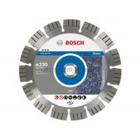 Диск алмазный Bosch 2.608.602.645 (230х22,23х2,4 мм) по камню