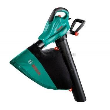Электрический пылесос-воздуходувка Bosch ALS 25+перчатки+сумка (0.600.8A1.001)