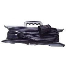 Силовой удлинитель на рамке, 1 розетка, 10 м Glanzen ER-10-001