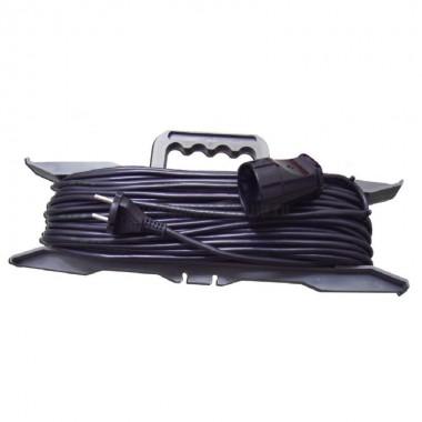 Силовой удлинитель на рамке, 1 розетка, 20 м Glanzen ER-20-001