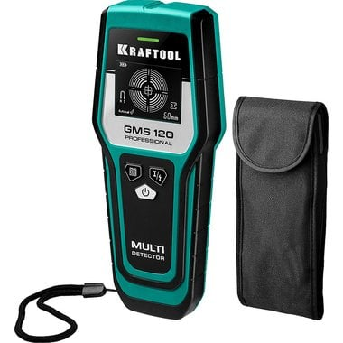 Детектор металлов KRAFTOOL GMS 120 универсальный 45298