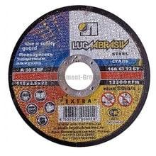 Диск шлифовальный по металлу Луга 125х22х6 мм