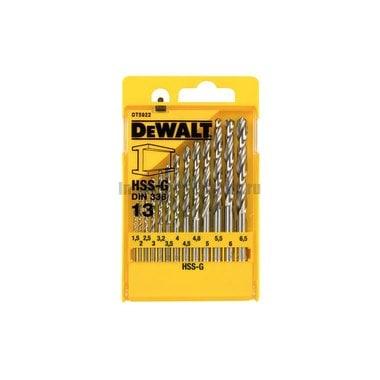 Набор сверл по металлу DeWalt DT 5922 (13 шт.)