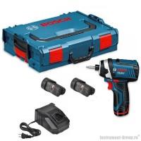 Аккумуляторный ударный гайковерт Bosch GDR 10,8-LI (06019A6977) L-BOXX