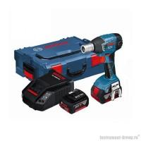 Акумуляторный ударный гайковерт Bosch GDS 18 V-LI (06019A1S0B)