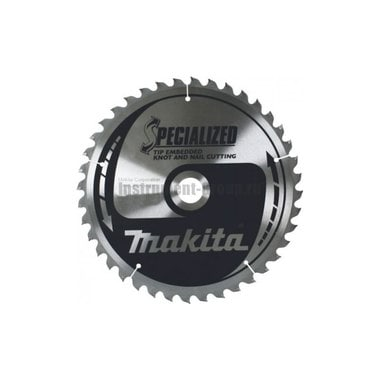Диск пильный Makita B-31463 (355х30х3 мм; 60 зуб.; по дереву с гвоздями)